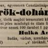 1846.05.14. Hulka Antal dohánygyáros