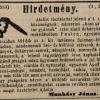 1846.05.22. Munkásy János dohánykereskedése