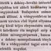 1846.08.25. Dohánymonopólium