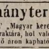 1846.09.11. Csetneki dohánytermesztők
