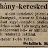 1846.10.06. Schlick Rudolf dohánykereskedő
