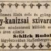 1846.11.29. Nagykanizsai szivarok