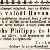 1847.05.30. Fuchs-Philips szivargyár
