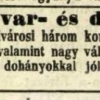 1847.08.27. Dohánykereskedés