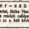 1847.10.24. Hulka Vince elleni csődper