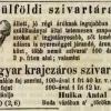 1847.12.24. Hulka Antal dohánykereskedése