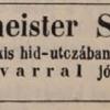 1848.03.14. Zechmeister dohánykereskedés