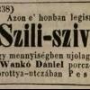 1848.07.18. Szili-szivarok