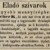 1848.10.31. Kutscher K. dohánykereskedő