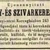 1850.07.30. Schott F. dohánykereskedés