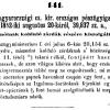 1852.09.07. Burnót a kolduló zárdáknak