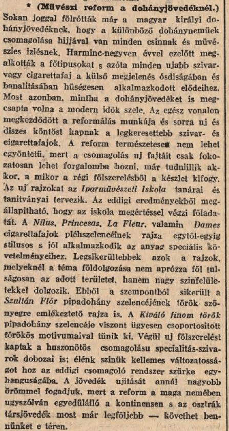 1913.12.23. Művészi reform