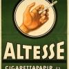 Altesse cigarettapapír és hüvely 1.
