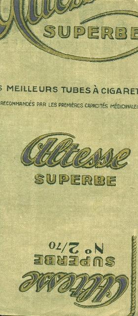 Altesse cigarettapapír és hüvely 9.