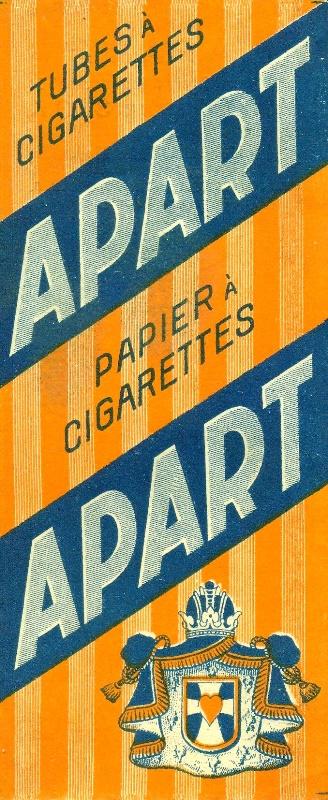 Apart cigarettapapír és hüvely