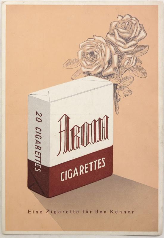 Aroma export cigaretta