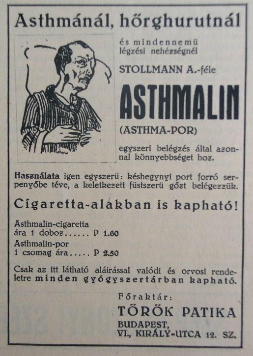 Asthmalin asztma por és cigaretta