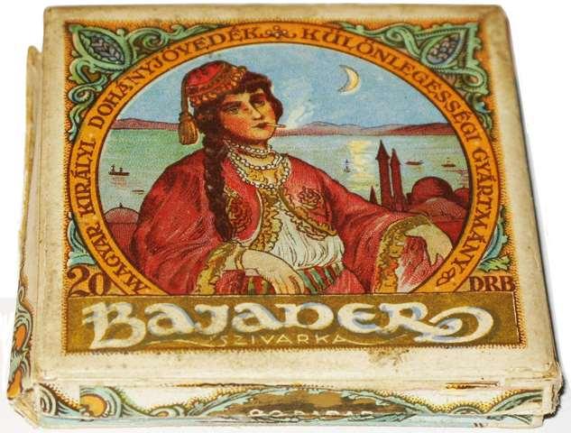 Bajader - kék