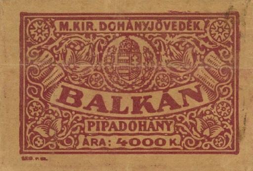 Balkán pipadohány 1.