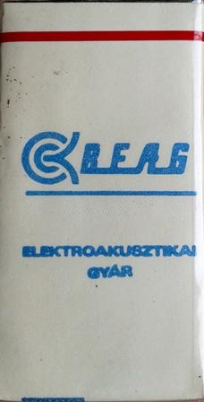 BEAG Elektroakusztikai Gyár 1.