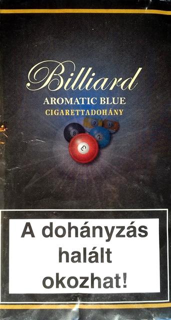 Billiard cigarettadohány 02.