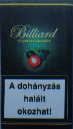 Billiard cigarettadohány 03.