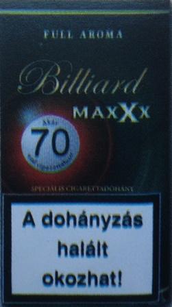 Billiard cigarettadohány 04.