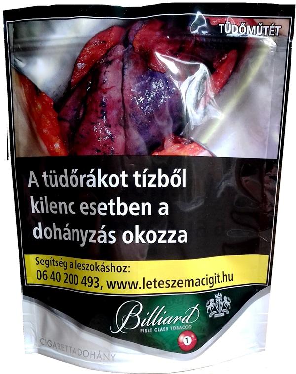 Billiard cigarettadohány 13.
