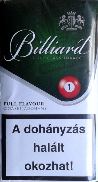 Billiard cigarettadohány 07.