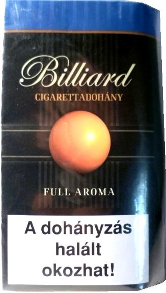 Billiard cigarettadohány 01.
