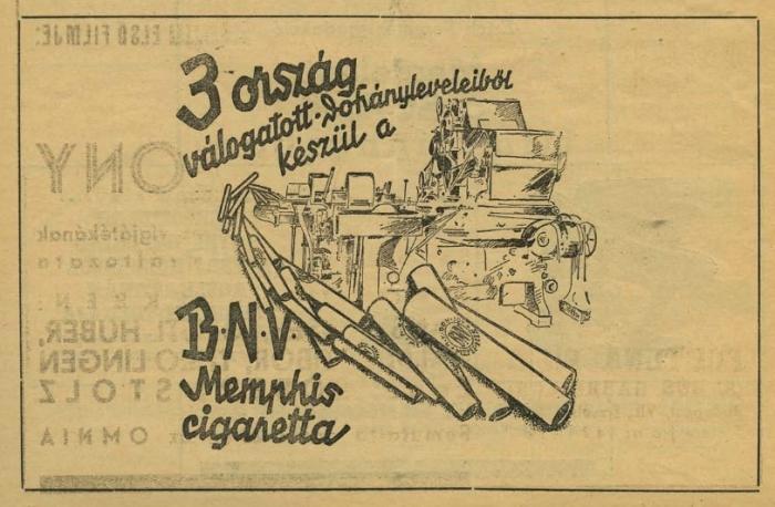 BNV - Memphis cigaretta