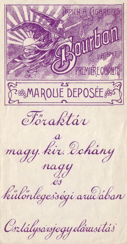 Bourbon cigarettapapír 1.