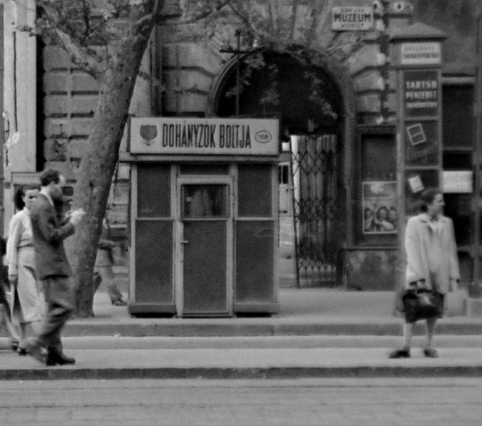Budapest, Astoria - Dohánybolt 2.