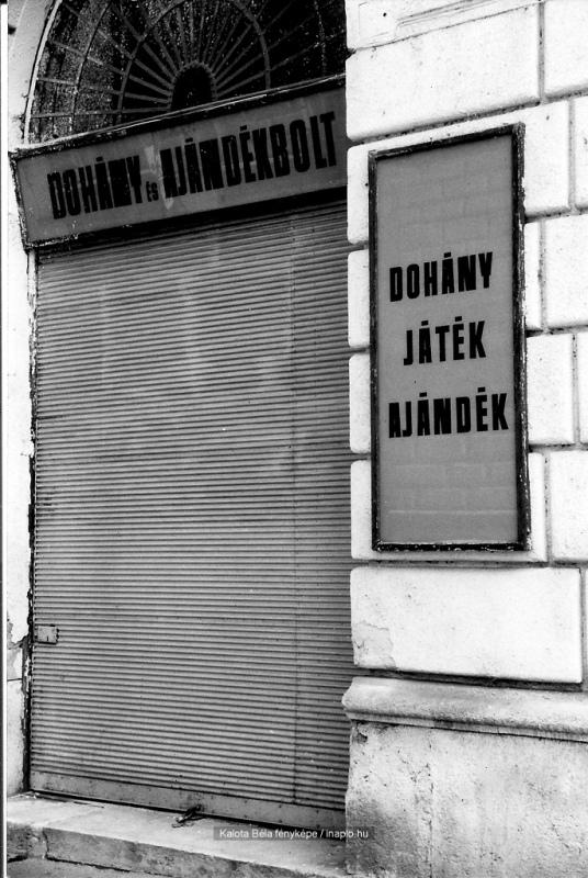 Budapest - Dohány és ajándék