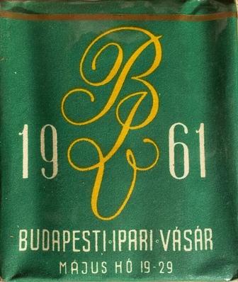 Budapesti Ipari Vásár 1961.