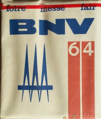 BNV - Budapesti Nemzetközi Vásár 1964.