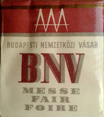 BNV - Budapesti Nemzetközi Vásár 1965.