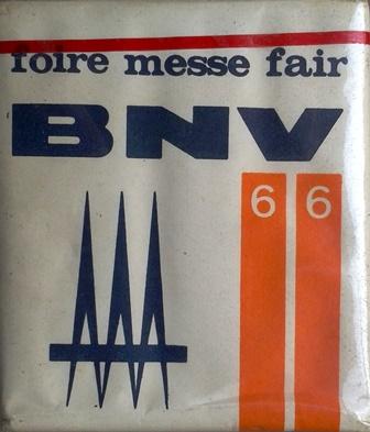 BNV - Budapesti Nemzetközi Vásár 1966.