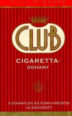 Club cigarettadohány 1.