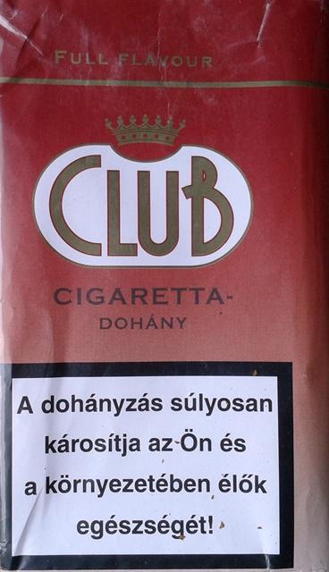 Club cigarettadohány 3.