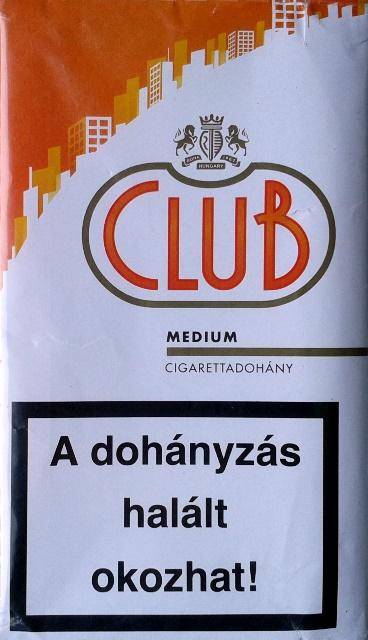 Club cigarettadohány 6.