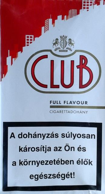 Club cigarettadohány 4.