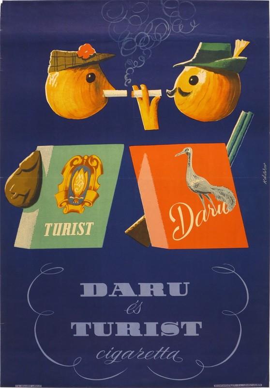 Daru és Turist cigaretta 1.