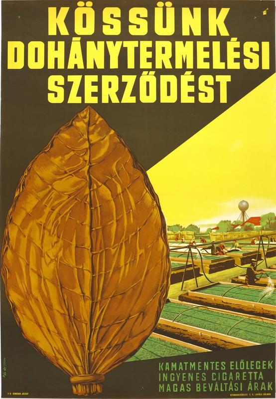 Dohánytermelési szerződés 09.