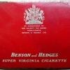 Benson & Hedges - üres