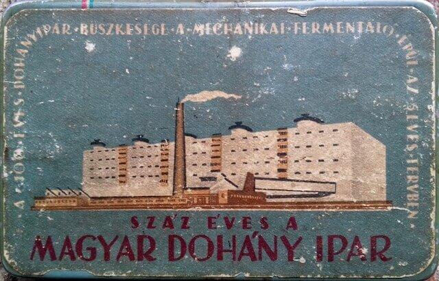 100 éves a Magyar Dohányipar 1.