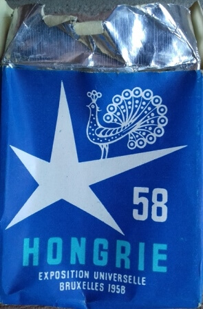 Hongrie 1958. 6 szállal