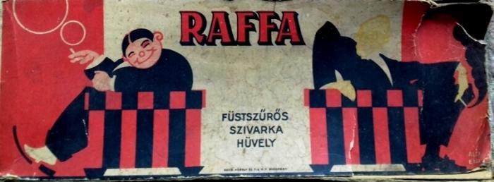 Raffa hüvely - üres