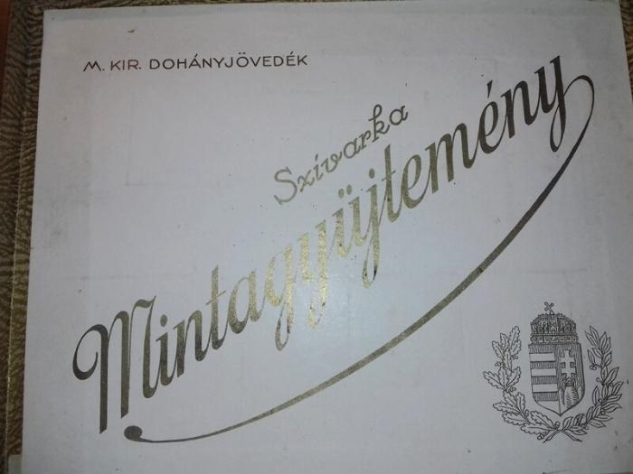 Szivarka mintagyűjtemény 1928.