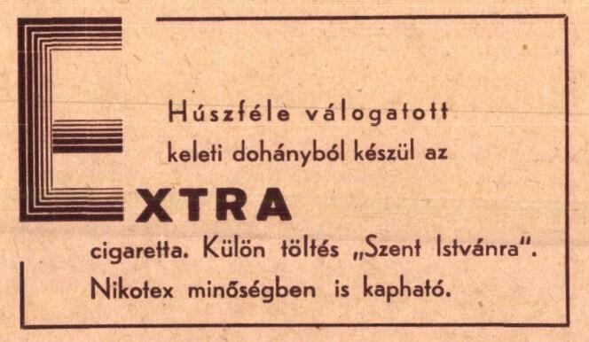 Extra cigaretta 3.